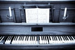 Vieux piano image stock