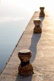 Vieux pilier Photos libres de droits