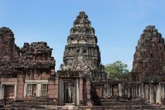 Vieux piliers en pierre Image libre de droits