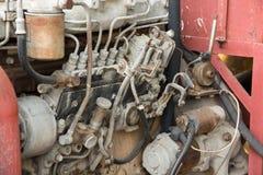 Vieux pistons de moteur ? combustion interne de voiture photos stock