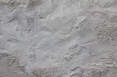 Vieux plâtré sur le mur blanchi Photographie stock libre de droits