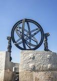 Vieux planétarium dans l'observatoire antique Image stock