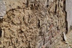Vieux plan rapproché de mur Photographie stock