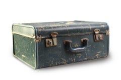 Vieux plan rapproché de valise photo libre de droits