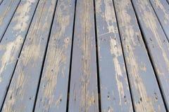 Vieux plancher en bois Image libre de droits