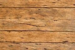 Vieux plancher en bois ou planches en bois pour le fond Image libre de droits