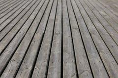 Vieux planking du bois gris Photo libre de droits