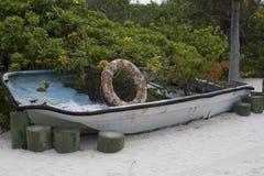Vieux planteur de bateau Image stock