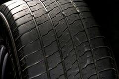 Vieux pneu Photos stock
