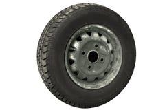 Vieux pneu Images libres de droits