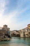 Vieux pont à Mostar Bosnie-Herzégovine Images libres de droits