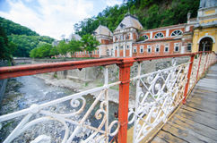 Vieux pont Images libres de droits