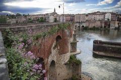 Vieux Pont Albi royalty-vrije stock afbeeldingen