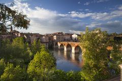 Vieux Pont Albi royalty free stock images