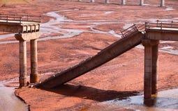 Pont cassé Images stock
