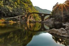 Vieux pont turc Photos libres de droits