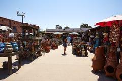 Vieux porcelaine de ville et magasin d'art, San Diego photographie stock libre de droits