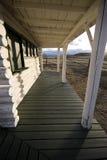 Vieux porche Image stock