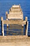 Vieux port cassé Photo libre de droits