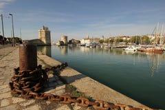Vieux port de La Rochelle Photo libre de droits