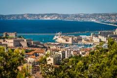 Vieux port de Marseille Image libre de droits