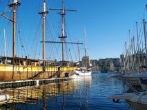 Vieux port de Marseille, France Stock Images