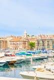 Vieux port de Marseille, Provence Photos stock