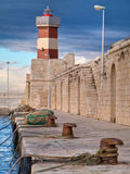 Vieux port de Monopoli. Apulia. Photographie stock libre de droits