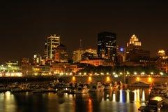 Vieux port de Montréal Images stock