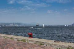 Vieux port du Québec Images libres de droits