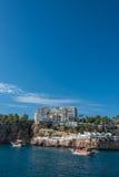 Vieux port et en centre ville Marina appelée à Antalya, Turquie Image stock