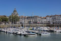 Vieux Port - La Rochelle - France royalty free stock image
