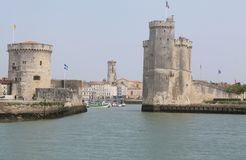 Vieux-Port, La Rochelle ( France ) Stock Photos