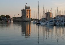 Vieux-Port, La Rochelle ( France ) Royalty Free Stock Photo