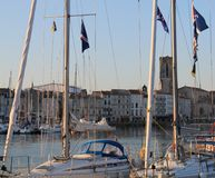 Vieux-Port, La Rochelle ( France ) Royalty Free Stock Photography