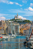 Vieux port of Marseille Stock Photography