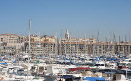 Vieux Port, Marseille, France Royalty Free Stock Photos