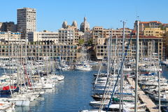 Vieux Port in Marseille, France Stock Image
