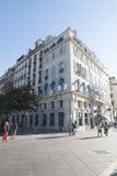 Vieux-port Marseille, Frankrike Arkivbild