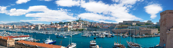 Vieux port of Marseille Royalty Free Stock Image