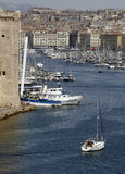 Vieux Port in Marseille in Provence Royalty Free Stock Image