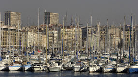 Vieux Port in Marseille in Provence Royalty Free Stock Photos