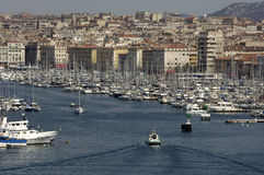Vieux Port in Marseille in Provence Stock Images