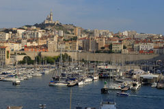 Vieux-porto Marsiglia Immagine Stock
