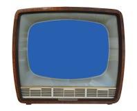 vieux positionnement TV Images stock