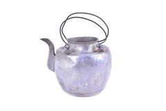 Vieux pot thaïlandais de fer Images stock