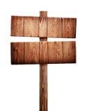 Vieux poteau indicateur en bois photographie stock libre de droits