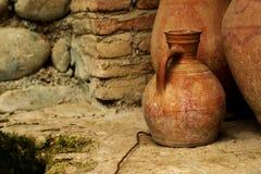 Vieux pots Photographie stock