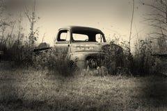 Vieux prenez le camion Image libre de droits
