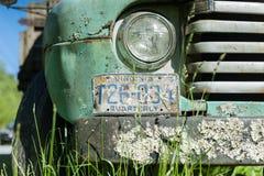 Vieux prenez le camion Photographie stock libre de droits